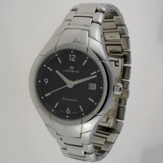 LORENZ MONTENAPOLENOE WATCHQuartz, 316L stainless steel case and bracelet