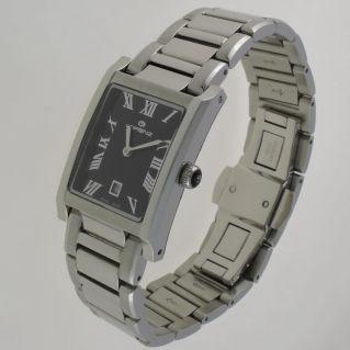 Woman watch LORENZ quartz, stainless steel case and bracelet