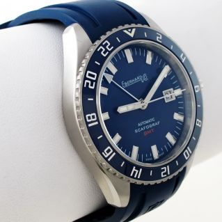 Watch EBERHARD & Co SCAFOGRAF 300 GMT Automatic - Triple time zone