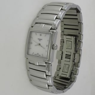 Ladies watch TISSOT EVOCATION Quartz, Mother Pearl and Diamonds, Sapphire Glass