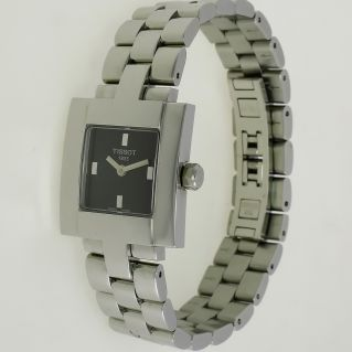 Ladies watch TISSOT Quartz, Stainless steel case and bracelet ,Crystal Sapphire