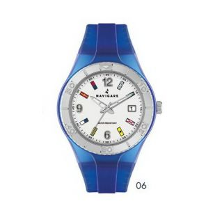 Watch NAVIGARE California, Mov. Miyota quartz, Dial with nautical flags