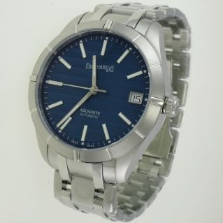 EBERHARD & Co Men's Watch AQUADATE GRANDE TAILLE Automatic, Stainless Steel Bracelet