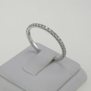 Verita GIANNI CARITA' Ring - Ct 0.49 G-VS All round Diamonds - 18 Kt Gold