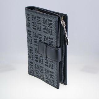 MORELLATO Brieftasche - Führerschein - Kreditkarten, Stoff und Leder