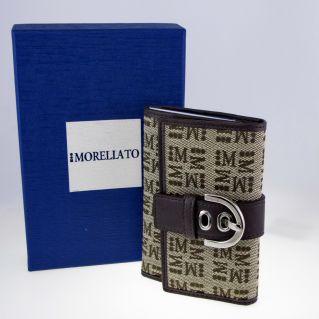 MORELLATO Portefeuille - permis de conduire - cartes de crédit, tissu et cuir