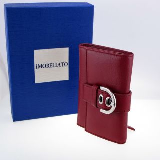 MORELLATO Wallet- driving license - credit cards, holdersin leather