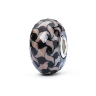 Perlas de Trollbeads 'Voz del viento' - Cristal de murano