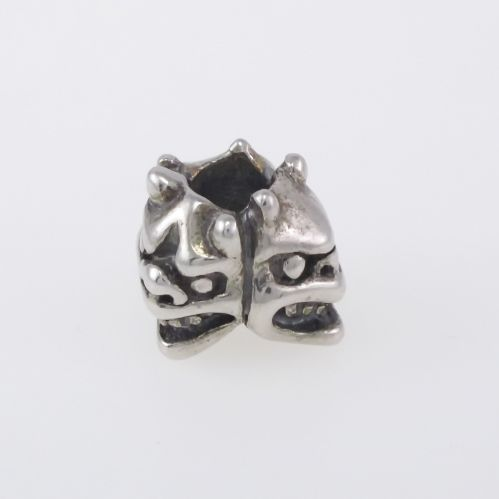 Beads Trollbeads 'The Three Guardians' - Silver Burnished