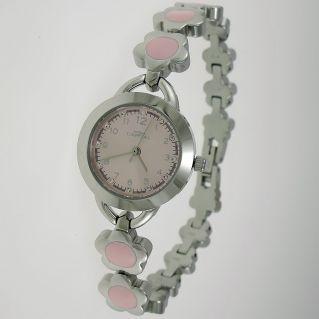 Reloj para mujer CAPITAL - Caja y correa de acero - Movimiento de cuarzo
