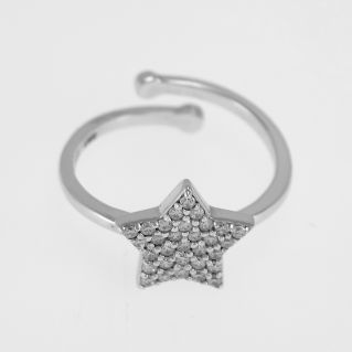 FOGI by Gianni Carità - Star shaped ring - 925 silver