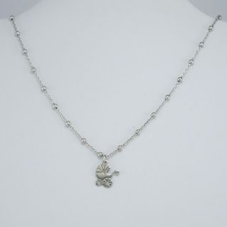 FOGI necklace by Gianni Carita with pram-shaped pendant, Silver 925