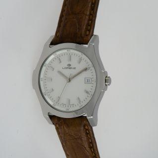 Reloj LORENZ - Caja de acero - Movimiento de cuarzo suizo - ¡vintage real!