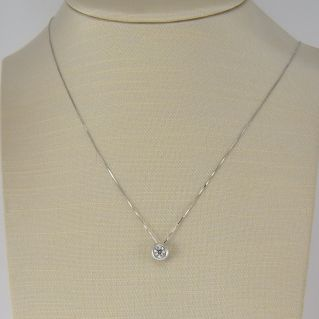 GIANNI CARITA' necklace with Ct 0.30 Diamonds G Color - 18 Kt white gold