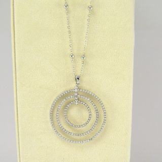 KIARA - Fashion necklace with central pendant