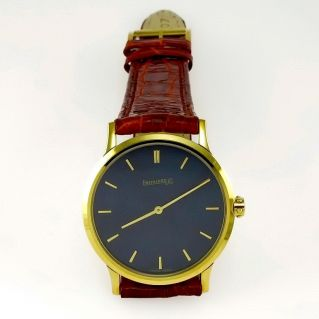 EBERHARD & CO - Yellow Gold - RIALTO model - Swiss quartz movement