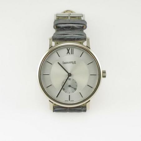 EBERHARD & CO - Watch White Gold 18 Kt case - Mechanical swiss hand winding