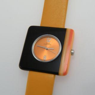 CAPITAL Damenmode Uhr, Mijota Quarzwerk