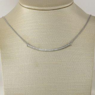 Collar GIANNI CARITA' con diamantes Ct 0.32 - color G - Oro blanco 18 Kt