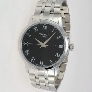 TISSOT watch CLASSIC DREAM Case stainless steel, Crystal Sapph, Thin 8 mm