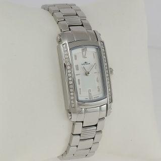 Reloj de mujer MONDIA - Caja con diamantes 0,27 ct - Movimiento de cuarzo suizo