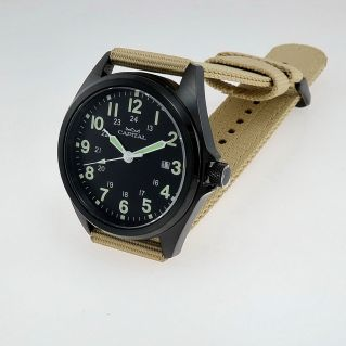 CAPITAL Uhr, PILOTWATCH - Time for Men Kollektion, Quarz - Sub 100mt