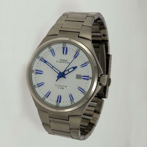 CAPITAL men's watch, quartz TITANIUM Collection - sub 100 mt
