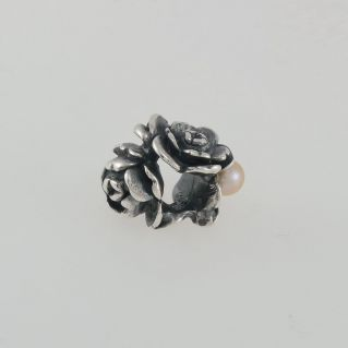 TROLLBEADS - Mother's Beads - Love Rose - 925 ‰ silver