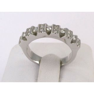 ETERNITY RING by GIANNI CARITA' - Ct 0,43 Diamonds G/VVS Color