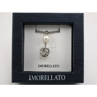 MORELLATO - Necklace Acciaio Coll. TWIST - Perla naturale bianca