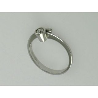 SOLITARY RING by GIANNI CARITA' - Ct 0.15 Diamond - G/VVS2