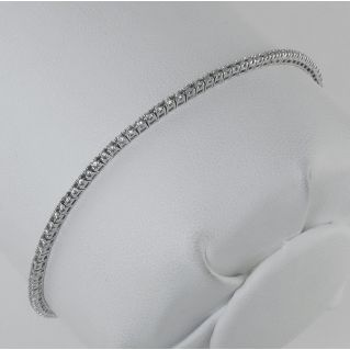 GIANNI CARITA' Bracciale Castoniera 'TENNIS' Diamanti ct 0,69 H VS Oro Bianco