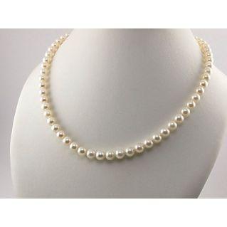 GOLAY - Bellissimo filo di Perle di mare naturali diametro 6 - 6,5