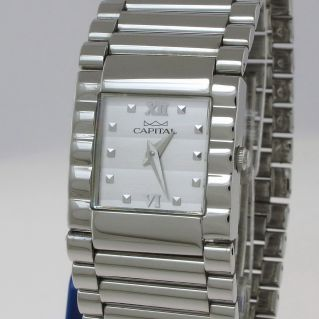 CAPITAL Woman watch - Case and steel bracelet - Quartz Movement