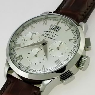 EBERHARD & CO EXTRA FORT Roue a Colonnes Grande Date - Swiss automatic movement